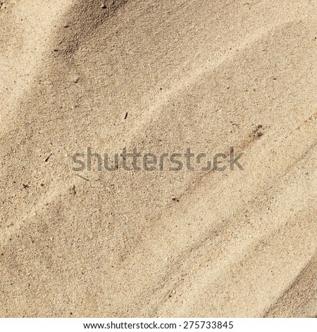 Sandy beach surface - stock photo