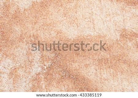 sandy soil - stock photo