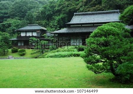 Sankeien Garden, Yokohama - stock photo