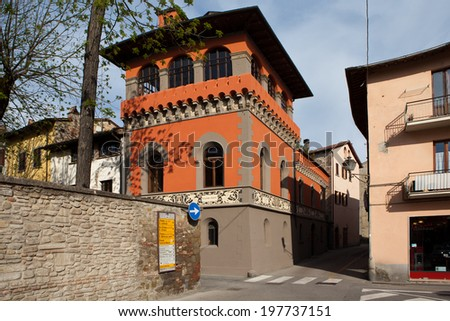 Sansepolcro. Italy. In the old town.