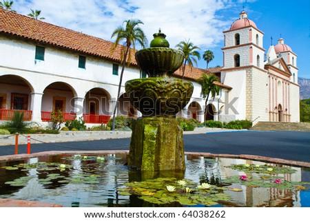 Santa Barbara Monastery - stock photo