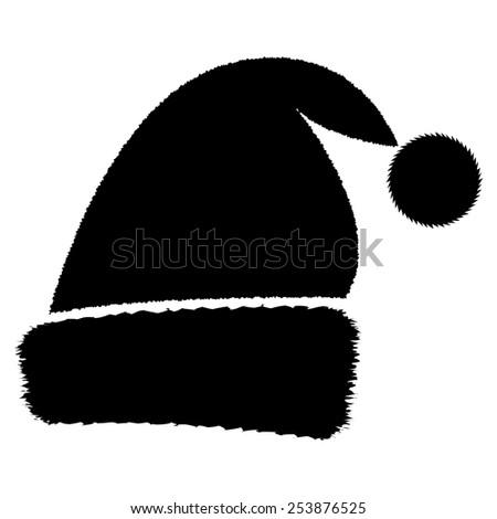 Santa cap Christmas hat - stock photo