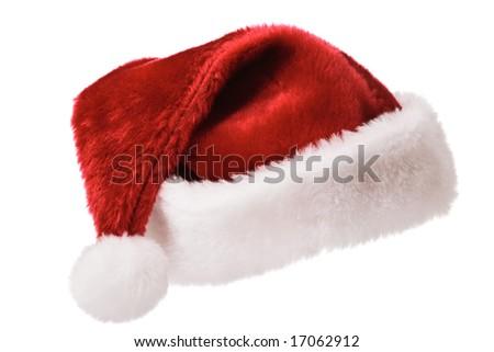 Santa Claus hat Christmas - stock photo