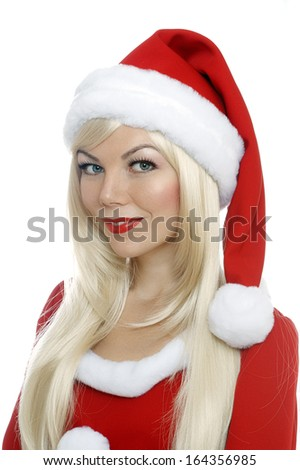 Santa Claus helper girl