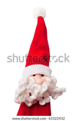 Santa Claus,isolated - stock photo