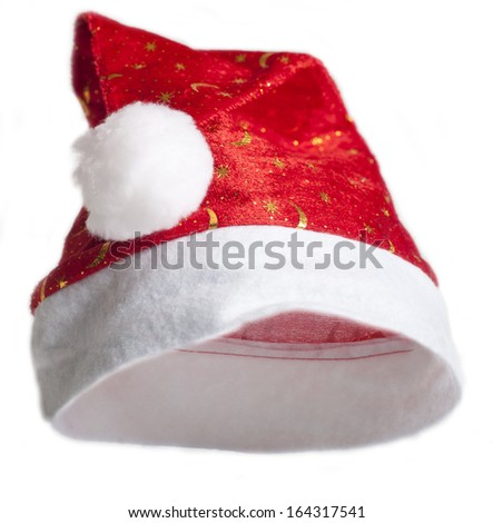 Santa hat. - stock photo