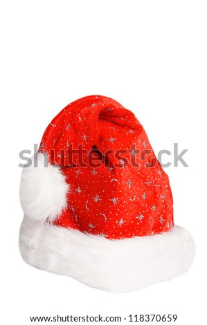 Santa Hat isolated over a white backgound / Santa Hat