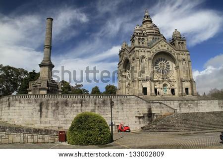 Santa Luzia Cathedral, Viana do Castelo, Portugal - stock photo