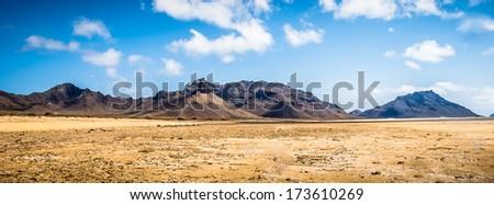 Santa Luzia Island - stock photo