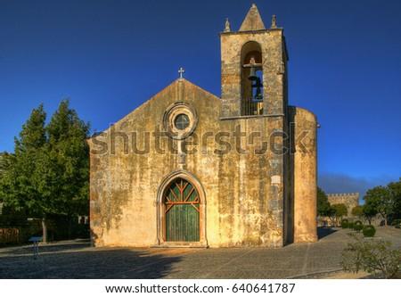 Santa Maria de Alcacova church, Montemor-o-Velho, Portugal
