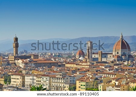 Santa Maria del Fiore Cathedral, Florence, Italy - stock photo