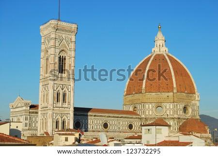 Santa Maria del Fiore - Florence - Italy - stock photo