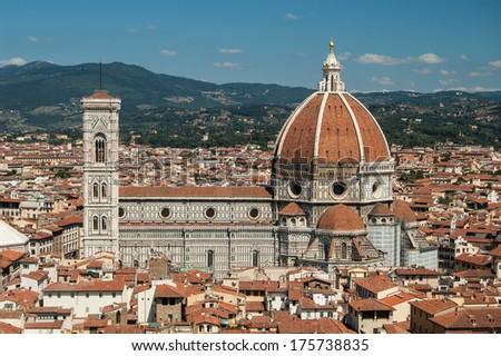 Santa Maria del Fiore, Florence Italy - stock photo