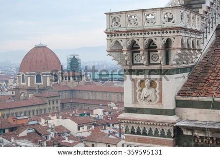 Santa Maria del Fiore. Florence, Tuscany (Italy - Europe) - stock photo