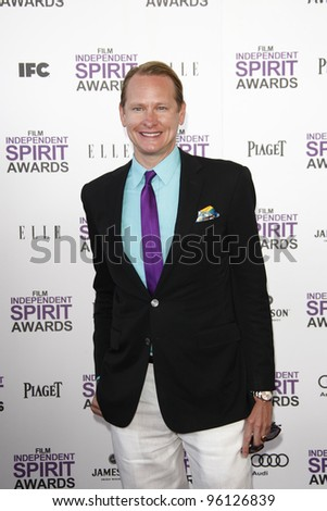 SANTA MONICA, CA - FEB 25: Carson Kressley at the 2012 Film Independent Spirit Awards on February 25, 2012 in Santa Monica, California - stock photo