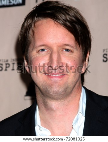 SANTA MONICA, CA - FEB 26:  Tom Hooper in the Press Room of the 2011 Film Independent Spirit Awards at the Beach on February 26, 2011 in Santa Monica, CA - stock photo