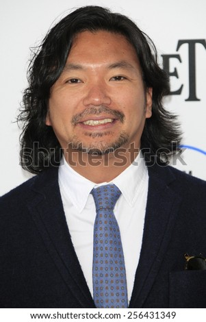 SANTA MONICA - FEB 21: Ko Mori at the 2015 Film Independent Spirit Awards on February 21, 2015 in Santa Monica, California - stock photo