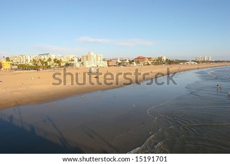Santa Monica is a coastal city in western Los Angeles County, California, USA. Situated on Santa Monica Bay of the Pacific Ocean
