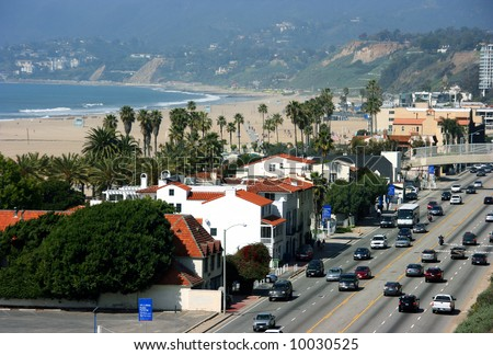 Santa Monica, Los Angeles, California - stock photo
