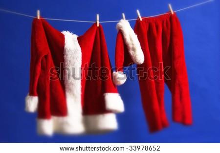 santa outfit - stock photo