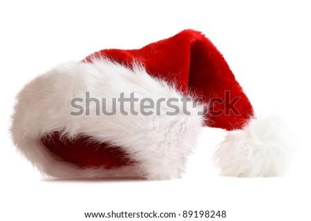 santa's hat - stock photo