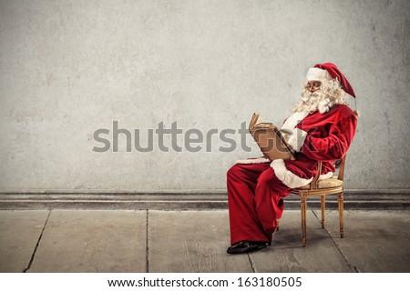 Santa's List - stock photo