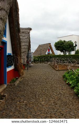 Santana, Madeira island, Portugal - stock photo