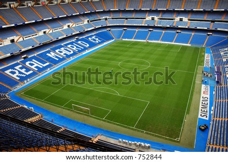 Santiago Bernabeu - stock photo