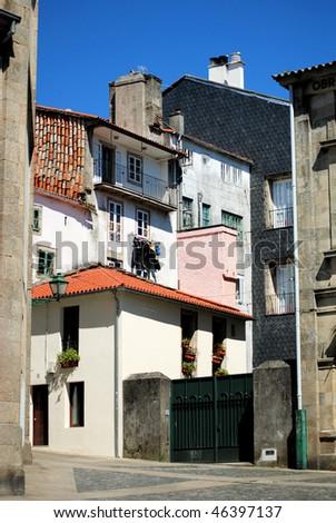 Santiago de Compostela, Galicia, Spain - stock photo