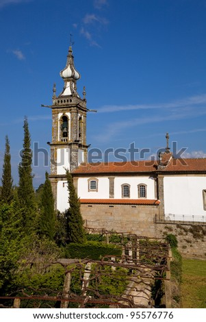 Santo Antonio Church Ponte de Lima Northern Portugal - stock photo