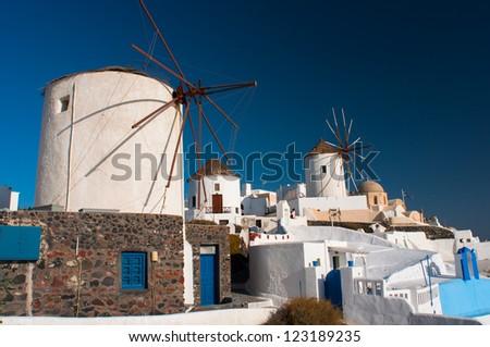 Santorini, Oia - stock photo
