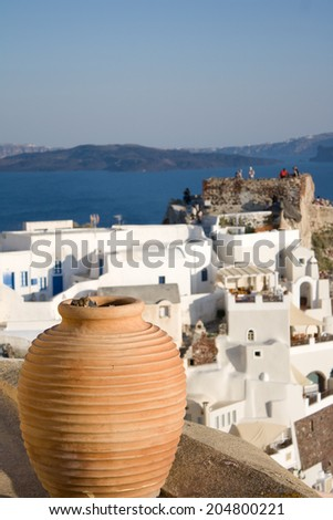 Santorini Oia (Ia) village Views - Greece