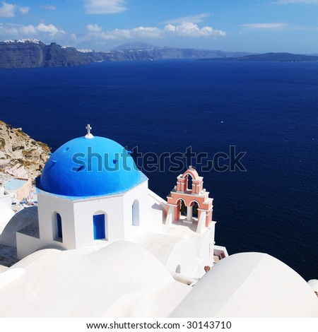 Santorini White Church *