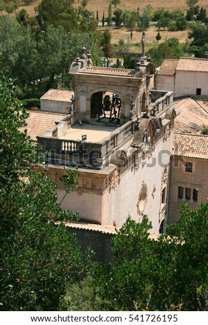 Santuari de Lluc, Monastery in Mallorca, Balearic Islands, Spain