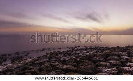 Sanur beach , Bali - stock photo