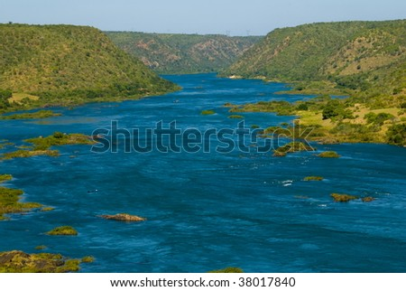 Sao Francisco River - Northeast of Brazil .