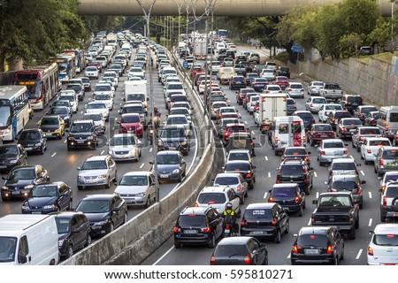 Brazil - Sao Paulo - Traffic downtown - YouTube |Sao Paulo Brazil Traffic