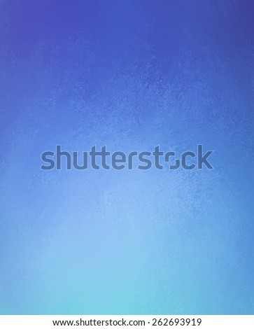 sapphire blue paint blurred into light blue color, abstract blurry background design - stock photo