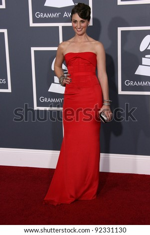 Sara Baras at the 53rd Annual Grammy Awards, Staples Center, Los Angeles, CA. 02-13-11
