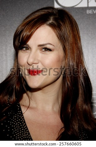 Sara Rue at the Los Angeles Gay & Lesbian Center Honors Rachel Zoe held at the Sunset Tower Hotel, California, United States on January 23, 2012. - stock photo