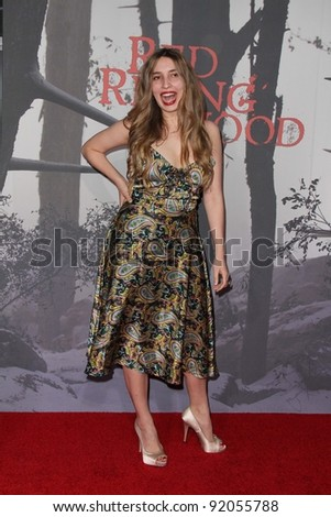 "Sarah Blakely-Cartwright at the ""Red Riding Hood"" Premiere, Chinese Theater, Hollywood. CA. 03-07-11"