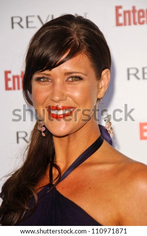 Sarah Lancaster  at Entertainment Weekly's 5th Annual Pre-Emmy Party. Opera and Crimson, Hollywood, CA. 09-15-07