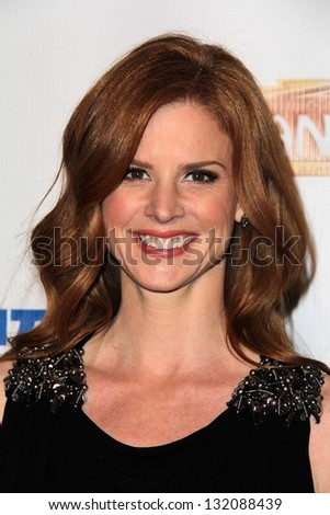 "Sarah Rafferty at the ""Catch Me If You Can"" Opening Night, Pantages, Hollywood, CA 03-12-13"
