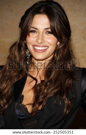 Sarah Shahi at the 37th Annual Gracie Awards Gala held at the Beverly Hilton Hotel in Los Angeles, California, United States on May 22, 2012.  - stock photo