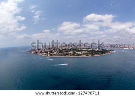 Sarayburnu - stock photo