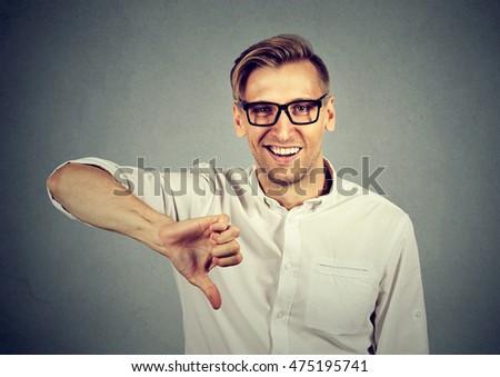 Shame on you finger