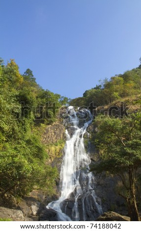 Sarika Waterfall in Khao Yai National Park Thailand
