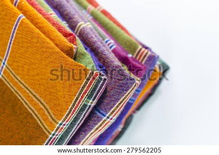 Sarongs - stock photo