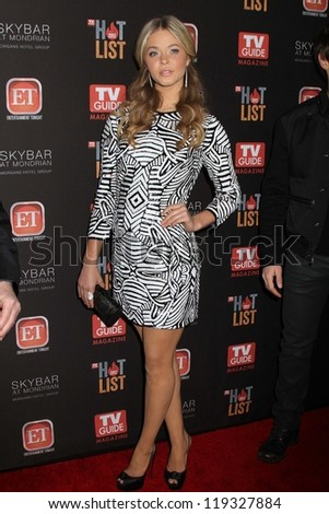 Sasha pieterse 2012 tv guide magazine stock photo royalty free sasha pieterse at the 2012 tv guide magazine hot list party skybar west hollywood thecheapjerseys Images