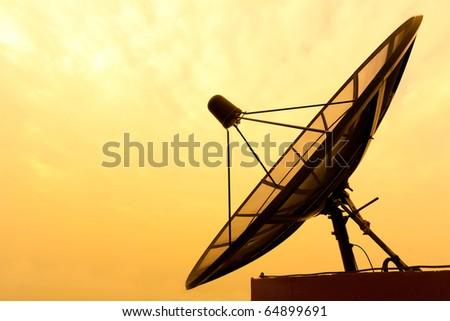 Satellite - stock photo